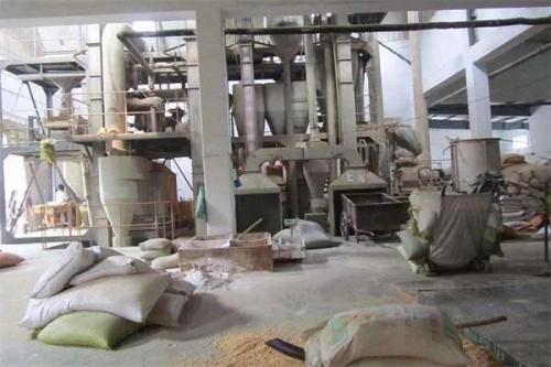 饲料厂生产车间通风除尘系统
