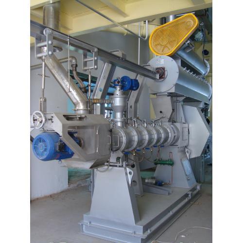 单螺杆水产膨化机