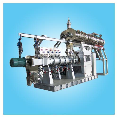 HHPHS系列单螺杆湿法膨化机