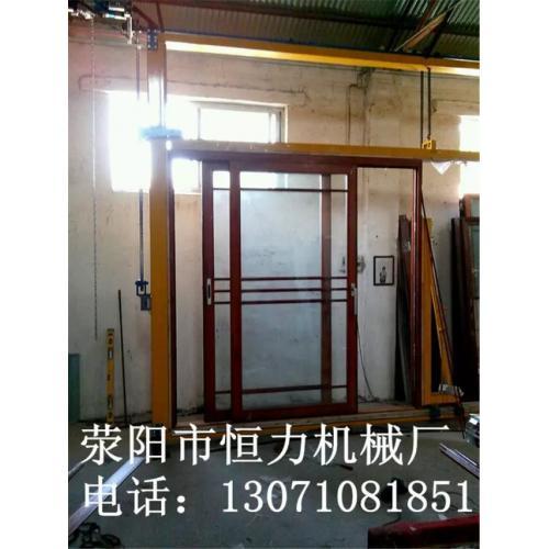 铝合金门窗调试架 佛山门窗调试架 吊趟门重型门平开门调试架