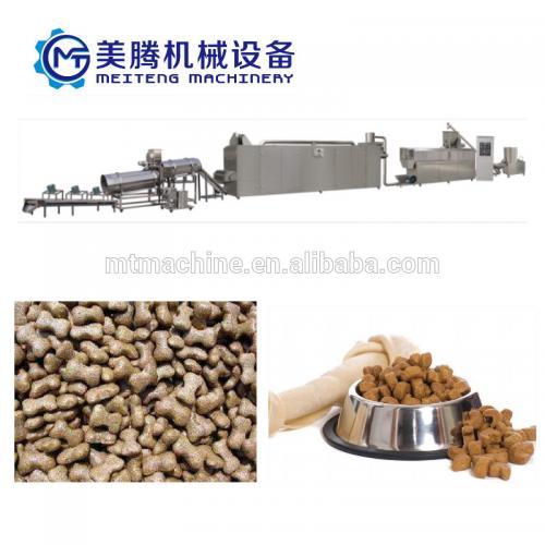 宠物食品加工设备膨化饲料加工设备价格