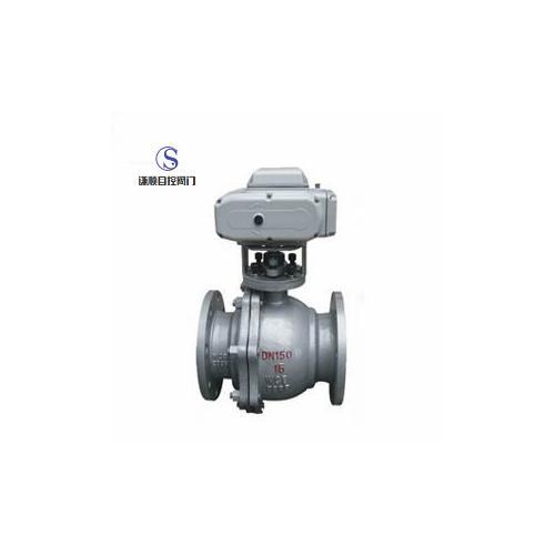Q941F电动碳钢浮动球阀