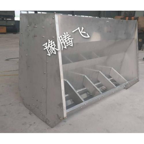 不锈钢猪用料槽
