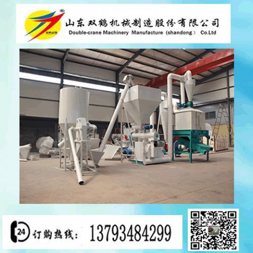 大型顆粒飼料生產線 飼料粉碎攪拌制粒生產線